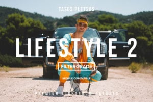 Tasos Pletsas Lifestyle 2 Lightroom Presets (Desktop + Mobile)