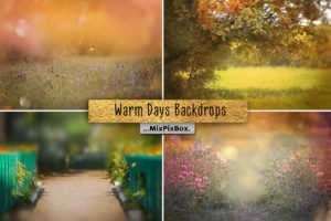 Warm Days Backdrops Pack