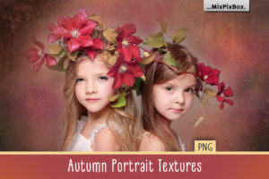 Autumn Portrait Textures & Backdrops