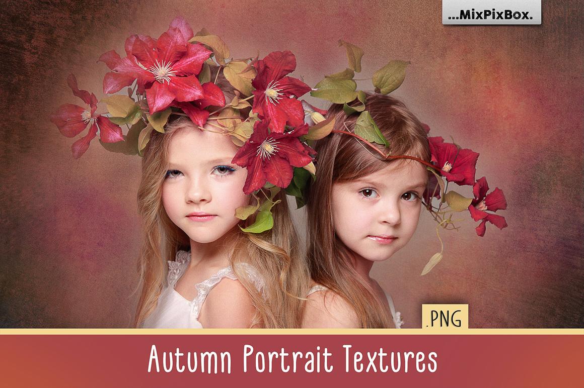 Autumn Portrait Textures & Backdrops