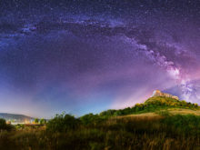 panoramic astrophotography