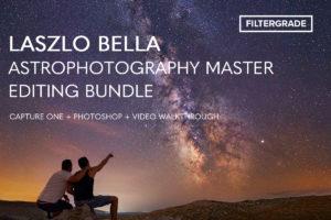 Laszlo Bella Astrophotography Master Editing Bundle
