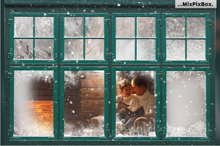 12 Useful Christmas and Winter Photo Overlays