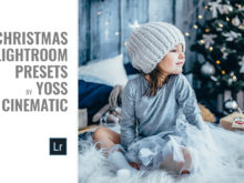 Moody Christmas Lightroom Presets by Yoss Cinematic