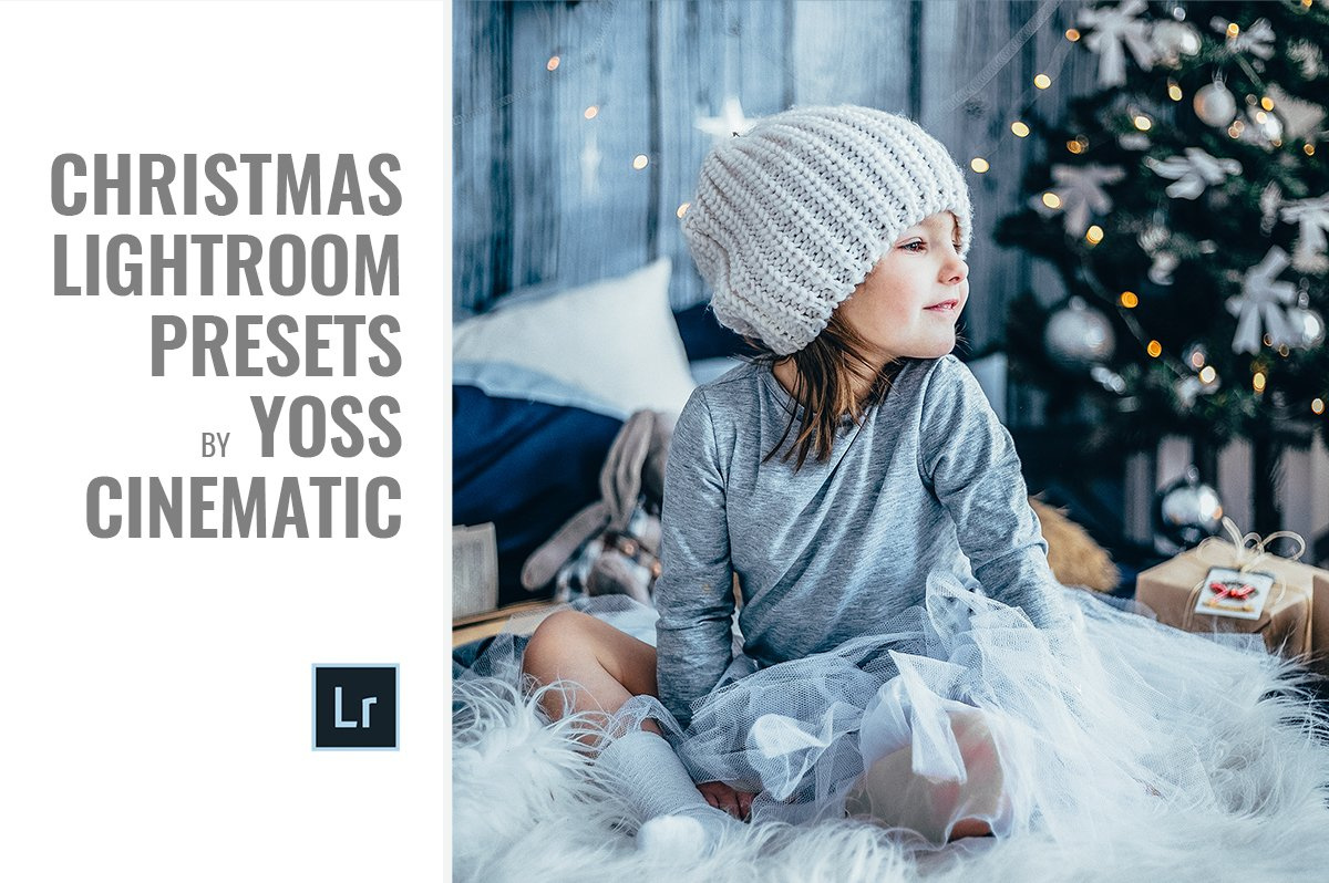 Moody Christmas Lightroom Presets by