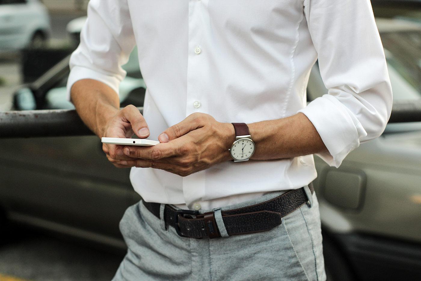 business man technology