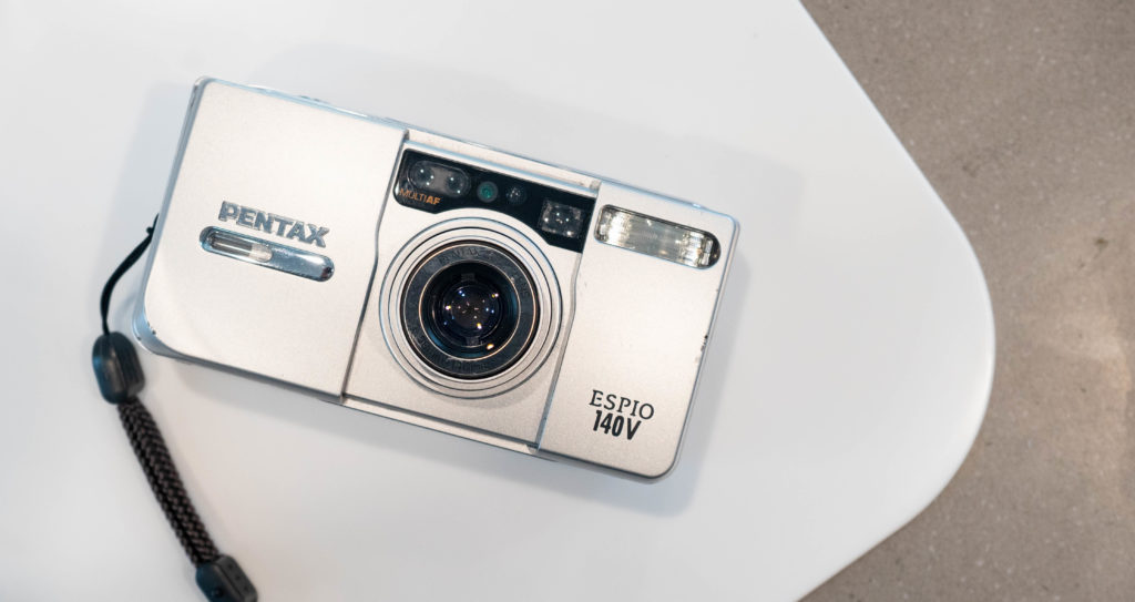 Pentax Espio140V - Best 35mm Film Cameras - FilterGrade