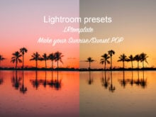 Make Your Sunset Pop Presets