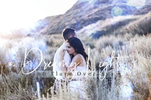 60 Dreamy Lights Effect Photo Overlays