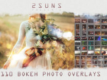110 Bokeh Lights Effect Overlays Bundle