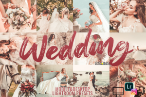 Wedding Lightroom Presets Mobile DNG