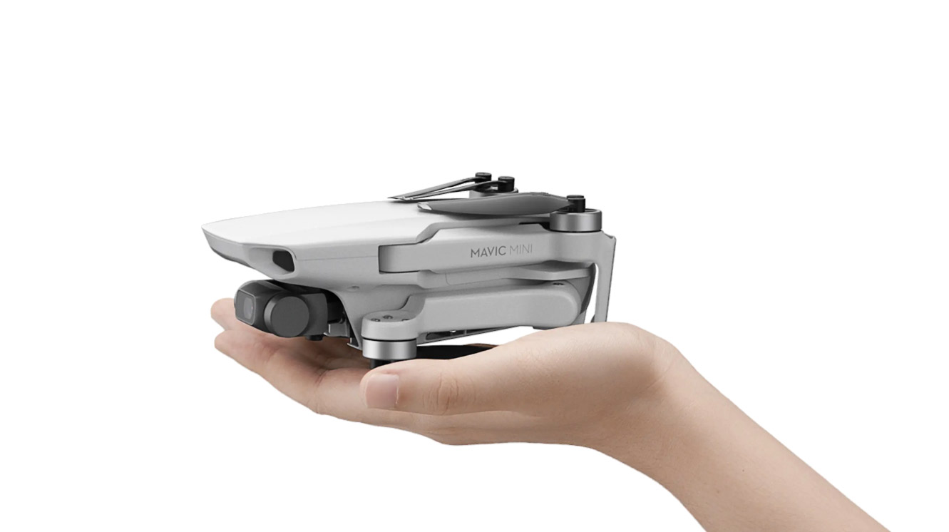 dji mavic mini hand held