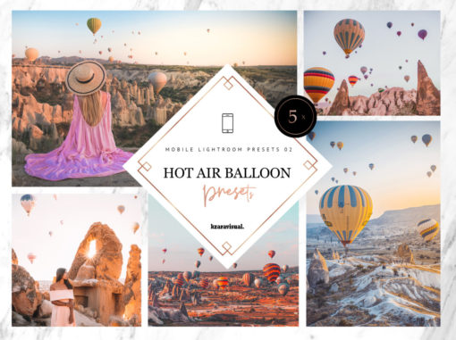 5 x Hot Air Balloon Mobile Lightroom Presets