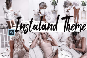 5 Instaland Photoshop Actions and LUTs
