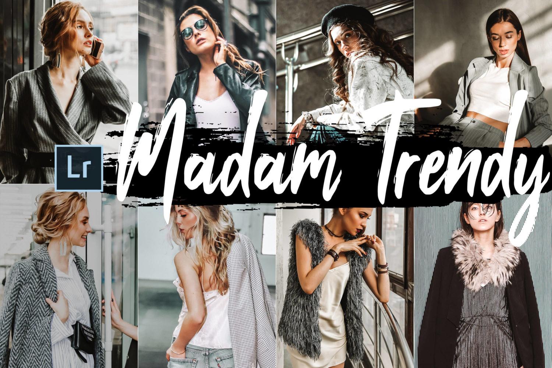 5x Madam Trendy Desktop Lightroom Presets
