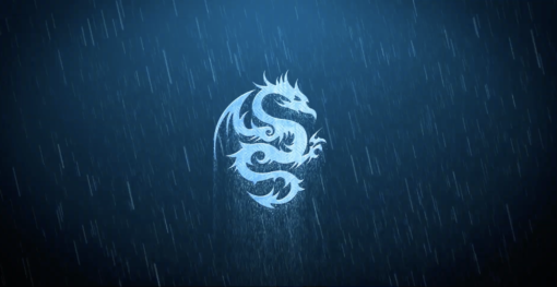 1 NioMotion - Storm Rain Metal Logo Template for Adobe After Effects - FilterGrade