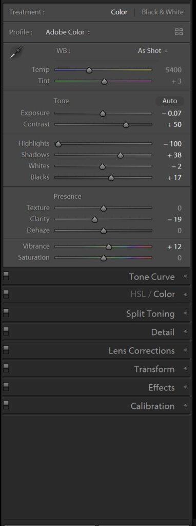 Basic Panel - FilterGrade