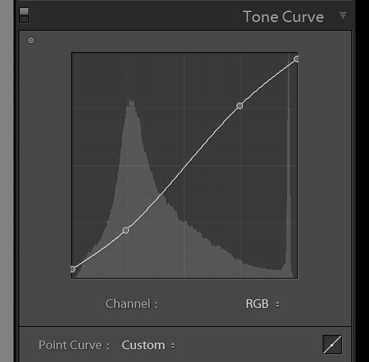 Tone curve - FilterGrade