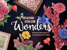 Watercolor Wonders Artistic Kit