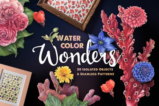 Watercolor Wonders Artistic Kit