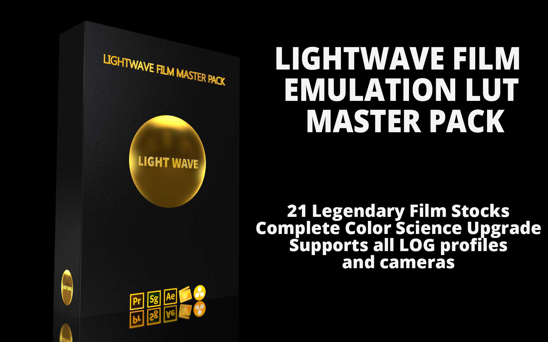 LightWave Film LUT Master Pack