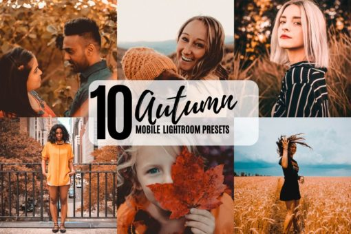 10 Autumn Vibes Mobile Lightroom Presets