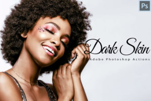 6 Dark Skin PS Actions and LUTs