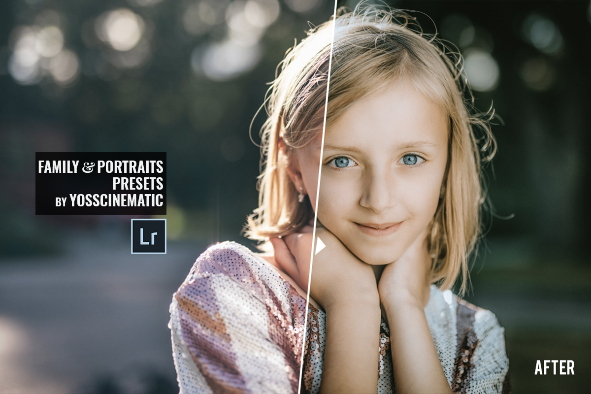 Family and Portraits Lightroom Presets   Moody & Cinematic Tones