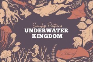 Underwater Kingdom Vector Patterns