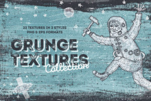Hand-Drawn Grunge Textures Collection