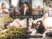 Together in Love Desktop + Mobile Lightroom Presets