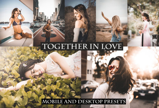 Together in Love Desktop + Mobile Lightroom Presets