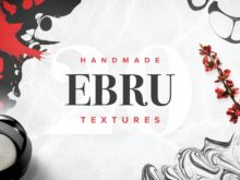 Ebru Marbling Textures Collection