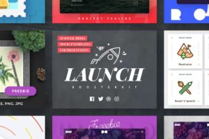 Launch Booster Social Media Mockup Templates