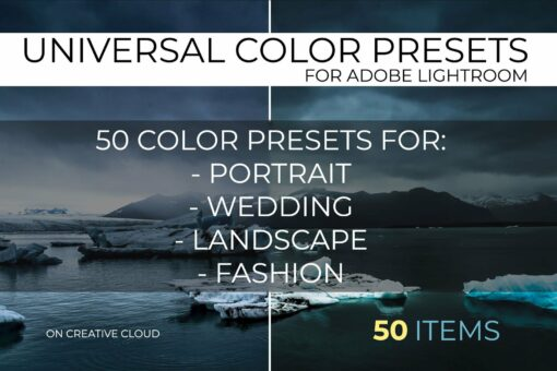 Universal Color Lightroom Presets Pack 1