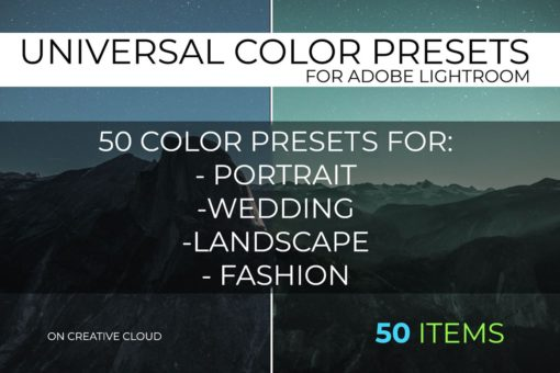 Universal Lightroom Color Presets Pack 5