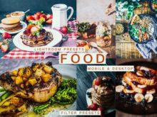 Delicious FOOD Mobile + Desktop Lightroom Presets
