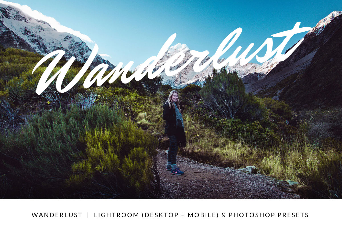 Wanderlust | Lightroom and Photoshop Presets