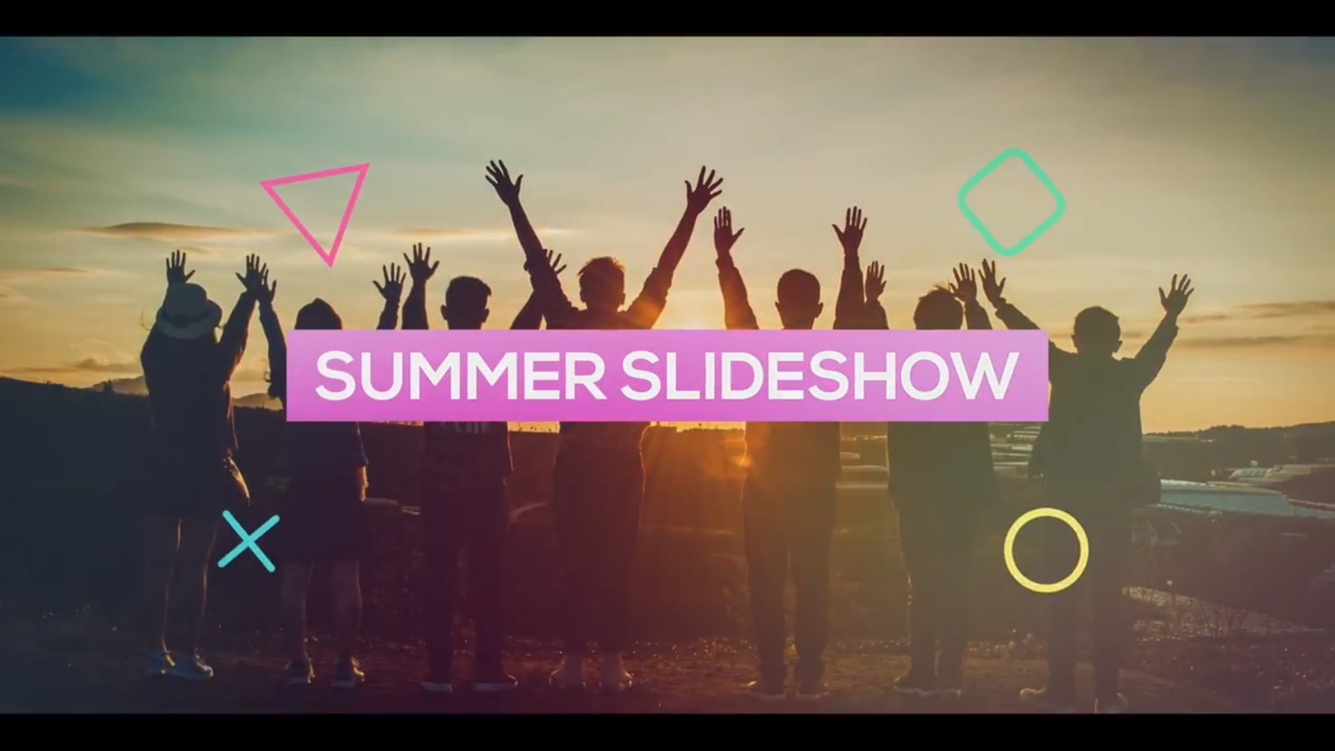 Summer Slideshow (After Effects Template)