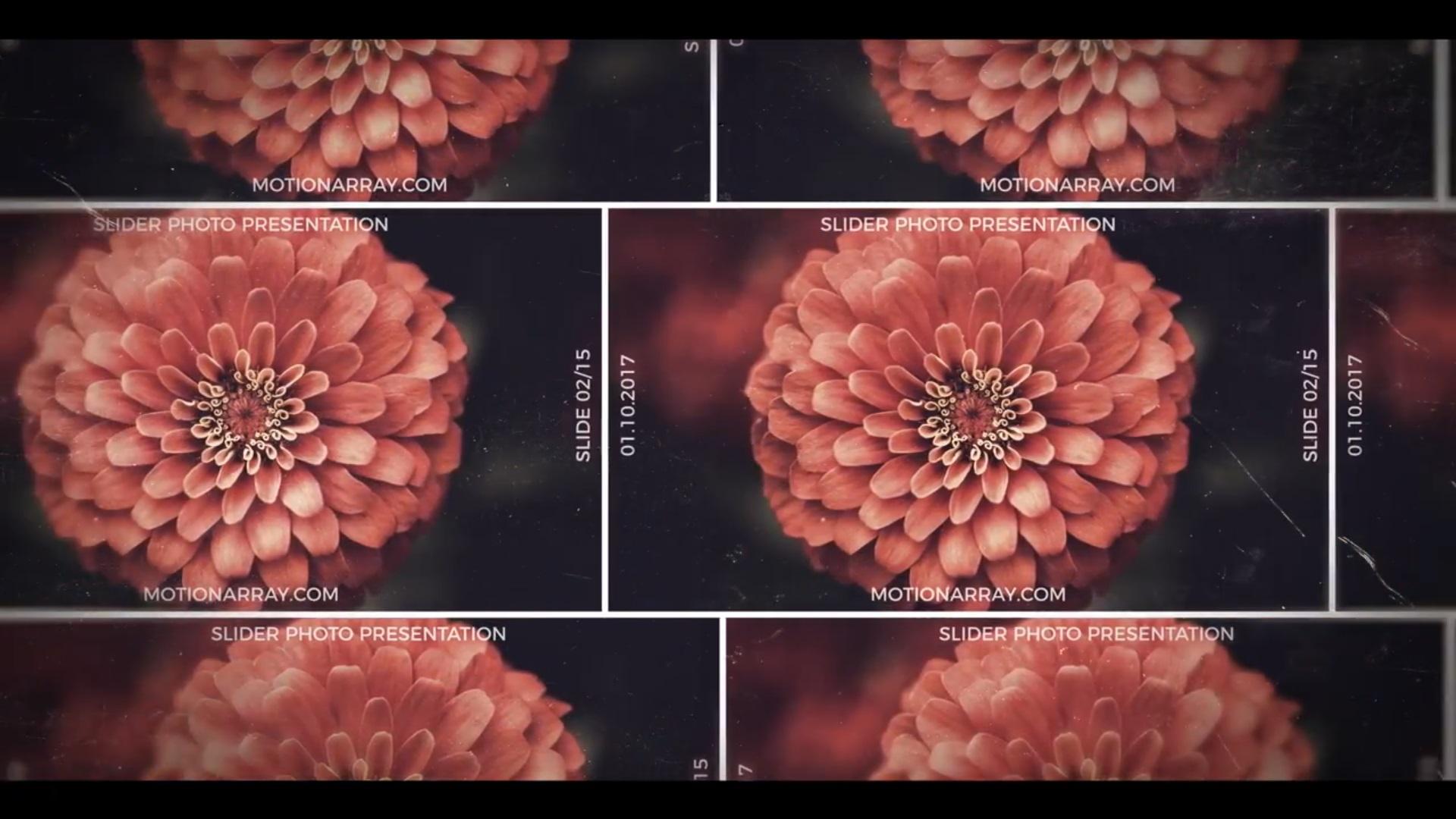 Photo Slider After Effects Presentation