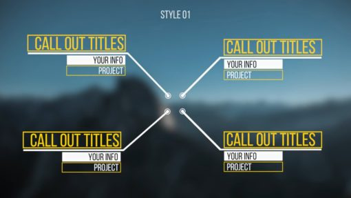 Universal Call-Out Titles (Premiere Pro)