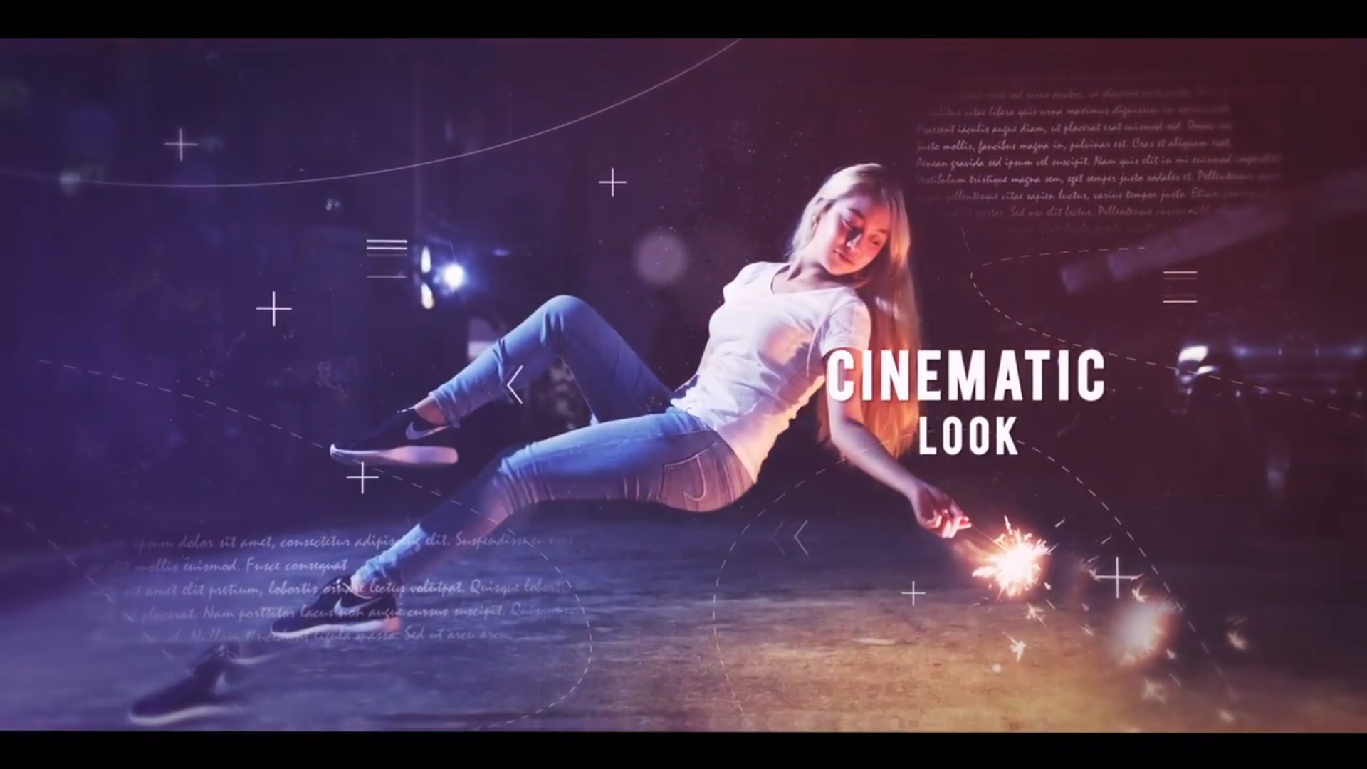 Cinematic Parallax Slideshow (After Effects)