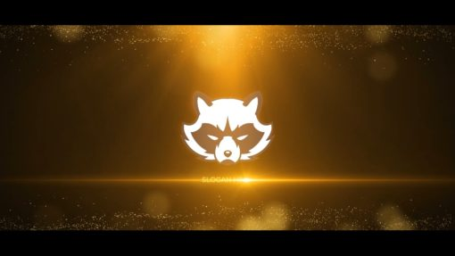Gold Logo Reveal (After Effects Template)