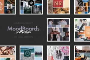 Social Mood Boards Collection