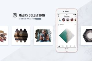 Instagram Masks Collection (Photoshop Templates)