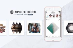 Instagram Masks Collection (Photoshop Templates)