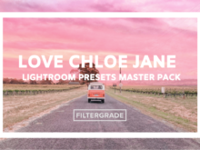 Love Chloe Jane Master Lightroom Preset Pack