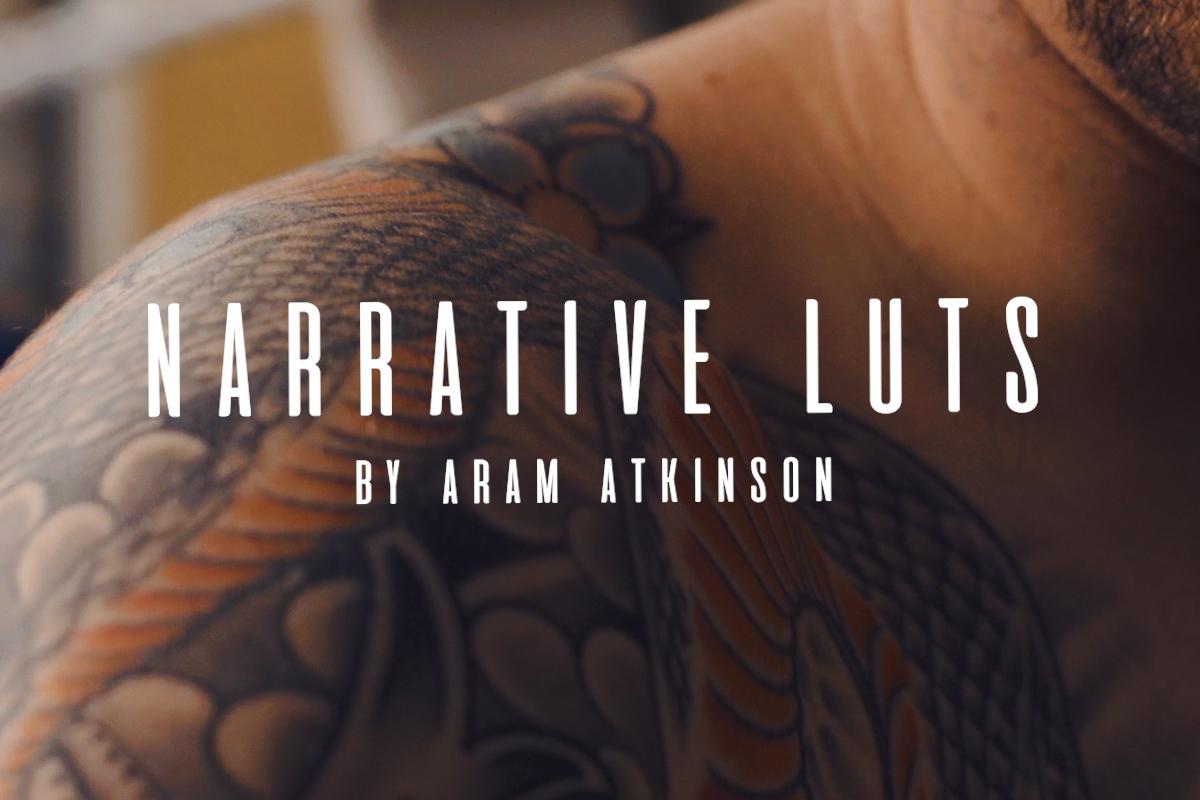 Aram Atkinson Narrative LUTs Pack