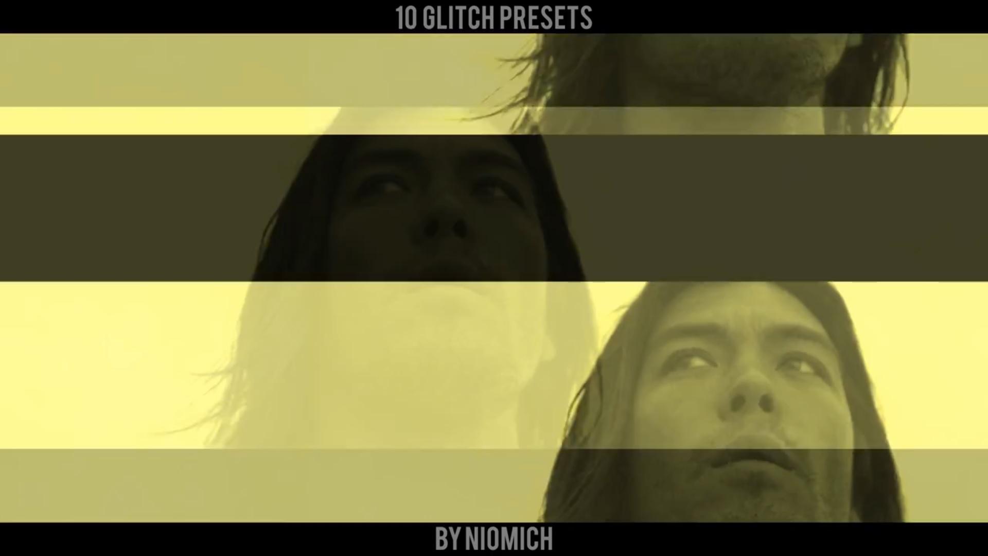 Fast Glitch Presets (Premiere Pro)
