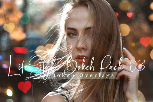 80 Lifestyle Bokeh Lights Pack 03 Photo Overlays